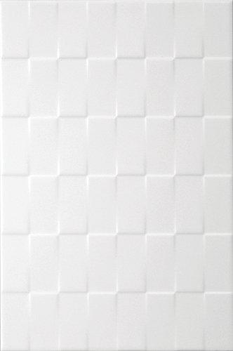 Twill Tile 8 X 12 White