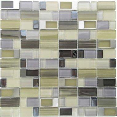 "Bangles Glass Tile 11.8"" x 11.8"" - East Village"