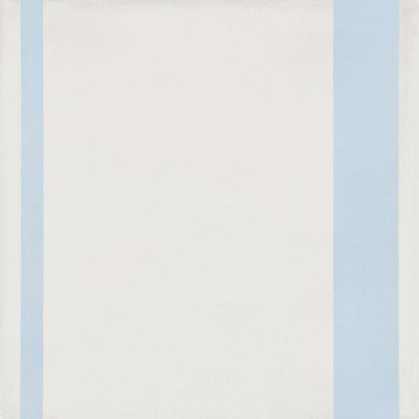 "Bati Orient Cement Tile Decor Modern Line 8"" x 8"" - Blue/Off White"