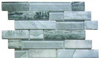 Glass Tile Recycled Interlocking 12