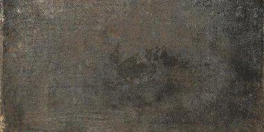 """Rust Metal Series Tile 12"""" x 24"""" - Coal"""