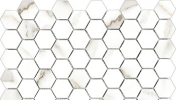 Mayfair Tile HD Hexagon Mosaic 1.25