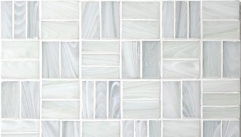 Homespun Glass Tile Tweed 12