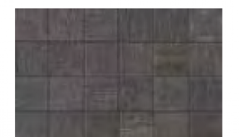 Mark Mosaic Matte Tile 2 x 2 - Graphite