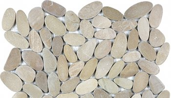 Spa Pebbles Flat Mosaic 12