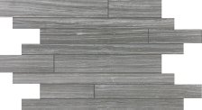 Eramosa Tile Random Strip Mosaic - Carbon