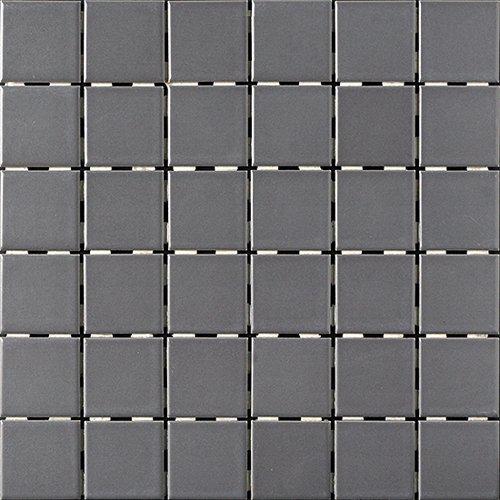 Ontario Tile Mosaic Group 2 Matte X Dark Grey