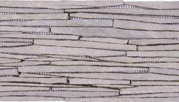Slate Tile Wall Sliced Front/Back Interlocking 6