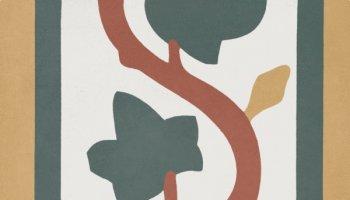 Bati Orient Cement Tile Decor Classic Leaf 8