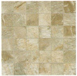 "Fossil Tile Mosaic 2"" x 2"" - Beige"