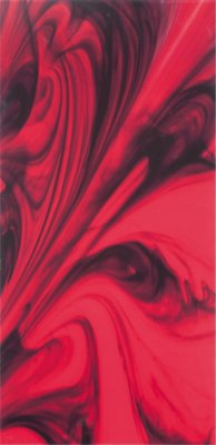 """Glass Tile Decor 11,8"""" x 23,8"""" - Red"""