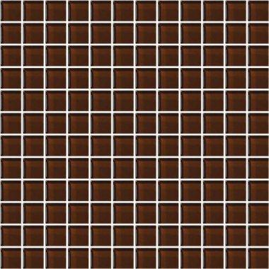 """Color Appeal Tile Mosaic 1"""" x 1"""" - Copper Brown"""