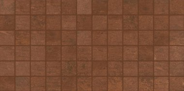 "Theoretical Tile Mosaic 2"" x 2"" - Deep Copper"