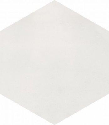 "Bati Orient Cement Tile Hexagon 8"" x 9"" - Off White"