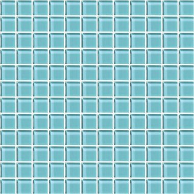 "Color Appeal Tile Mosaic 1"" x 1"" - Fountain Blue"