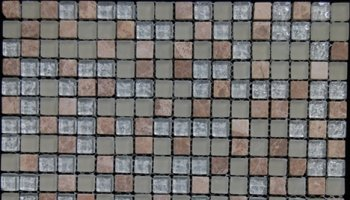 Fusion Glass Tile Mosaic 1/2