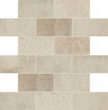 "Fusion Cotto Tile Mosaic Brick Joint 2"" x 4"" - Ecru"