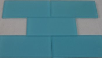 Crystal Glass Tile Frosted 3