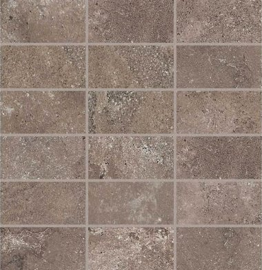 "Abound Tile Mosaic 2"" x 4"" - Umber"