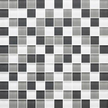 "Color Appeal Tile Mosaic Blend 1"" x 1"" - Silver Spring"
