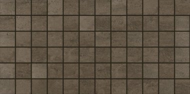 """Theoretical Tile Mosaic 2"""" x 2"""" - Absolute Brown"""