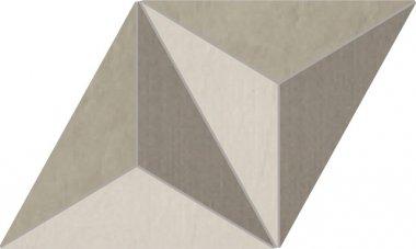 "Trame Series Tile Jewel Multi Surface Decor 12"" x 13"" - Light"
