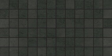 "Theoretical Tile Mosaic 2"" x 2"" - Abstract Black"