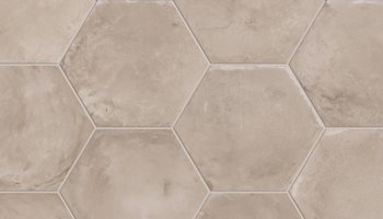 marca corona terra tile deco c hexagon 8 x 8 floreale. Black Bedroom Furniture Sets. Home Design Ideas