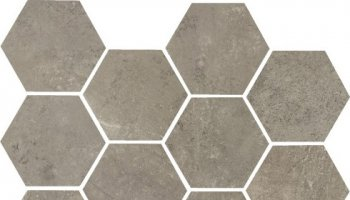 Concrete Hexagon Mosaic 11.69