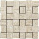 """Path Tile Net Mosaic 1.5"""" x 2"""" - White"""