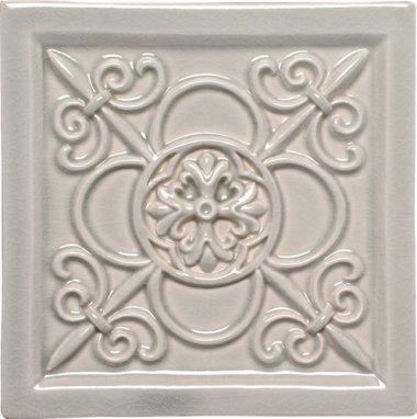 "Studio Tile Vizcaya Deco 5.8"" x 5.8"" - Graystone"