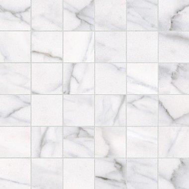 "Classic Series Tile Mosaic 2"" x 2"" - Carrara"