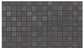Mark Mosaic Mix Matte Tile 5/8 x 5/8 - Graphite