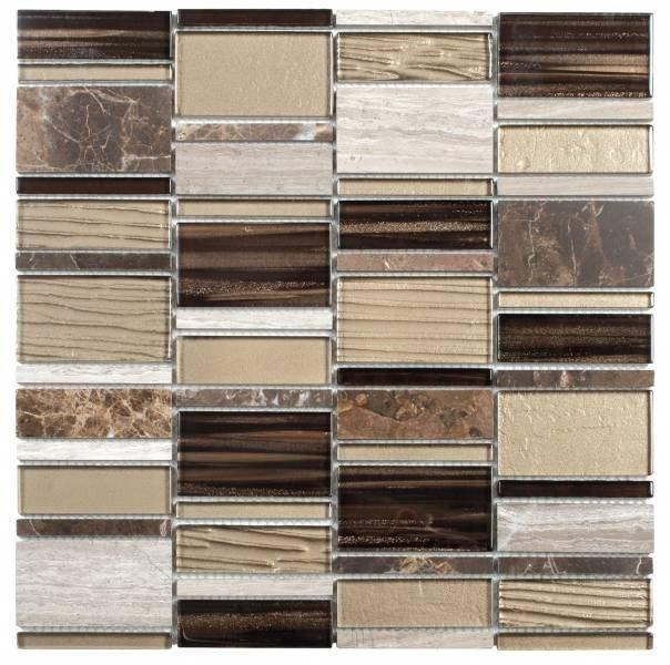 Bati Orient Marble Stone Tile Marble Glass Mosaic