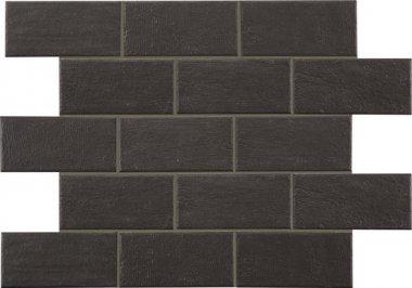 "Bricktown Tile 4"" x 8"" - Onyx Crossing"
