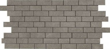 """Relevance Tile Mosaic 1"""" x 2"""" - Essential Charcoal"""