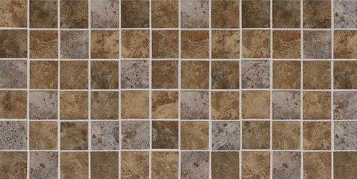 American Olean Belmar Tile Mosaic X Earth Blend - American olean 2x2 mosaic tile
