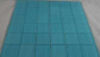 Crystal Glass Tile Frosted 2