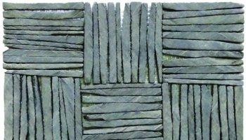 Slate Tile Multiple Square Interlocking 12