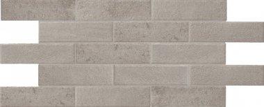 "Bricktown Tile 2"" x 8"" - Greige Parkway"