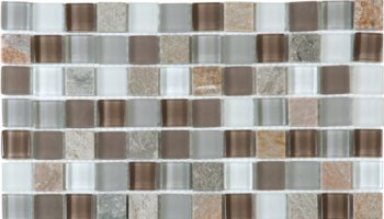 Glass Tile Mosaic 7/8