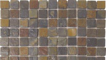 Slate Tile Mosaic 1
