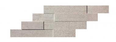 "Mark Mosaic Brick 3D Matte Tile 11 3/8"" x 23 1/4"" - Pearl"