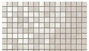 Mark Mosaic Mix Matte Tile 5/8 x 5/8 - Gypsum