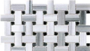 Fluid Marble Basketweave (Honed) 12