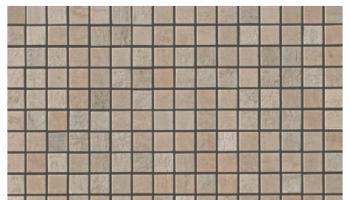 Mark Mosaic Mix Matte Tile 5/8 x 5/8 - Clay