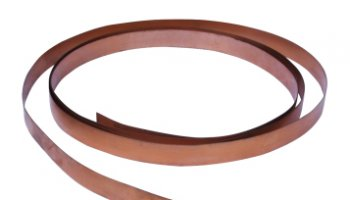 Colorex SD Copper Grounding Strap 1 x 1 - Copper