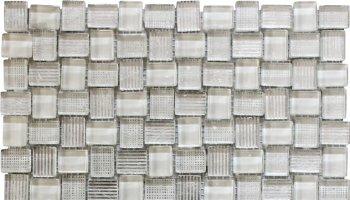 Bali Batik Glass Mosaic Tile - 11.8