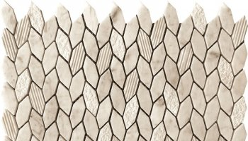 Bali Leaf Mosaic Tile - 11.8