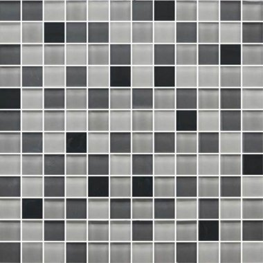 """Color Appeal Tile Mosaic Blend 1"""" x 1"""" - Midnight Sky"""